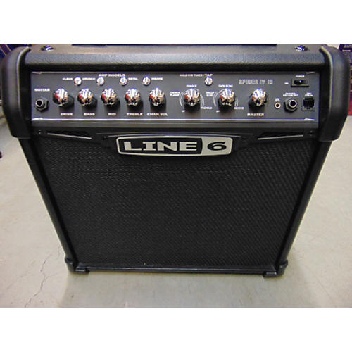 Line 6 Spider IV 15W 1X8 Guitar Combo Amp