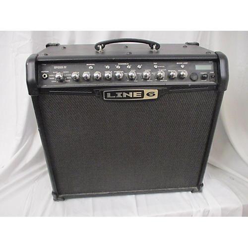 used line 6 spider iv 75w 1x12 guitar combo amp guitar center. Black Bedroom Furniture Sets. Home Design Ideas