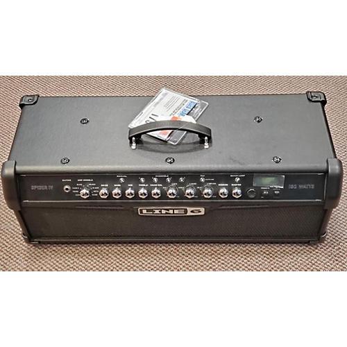 used line 6 spider iv hd150 solid state guitar amp head guitar center. Black Bedroom Furniture Sets. Home Design Ideas