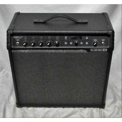used line 6 spider v 120 1x12 guitar combo amp guitar center. Black Bedroom Furniture Sets. Home Design Ideas