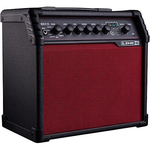 Line 6 Spider V 20 Red Edition 20W 1x8 Guitar Combo Amp