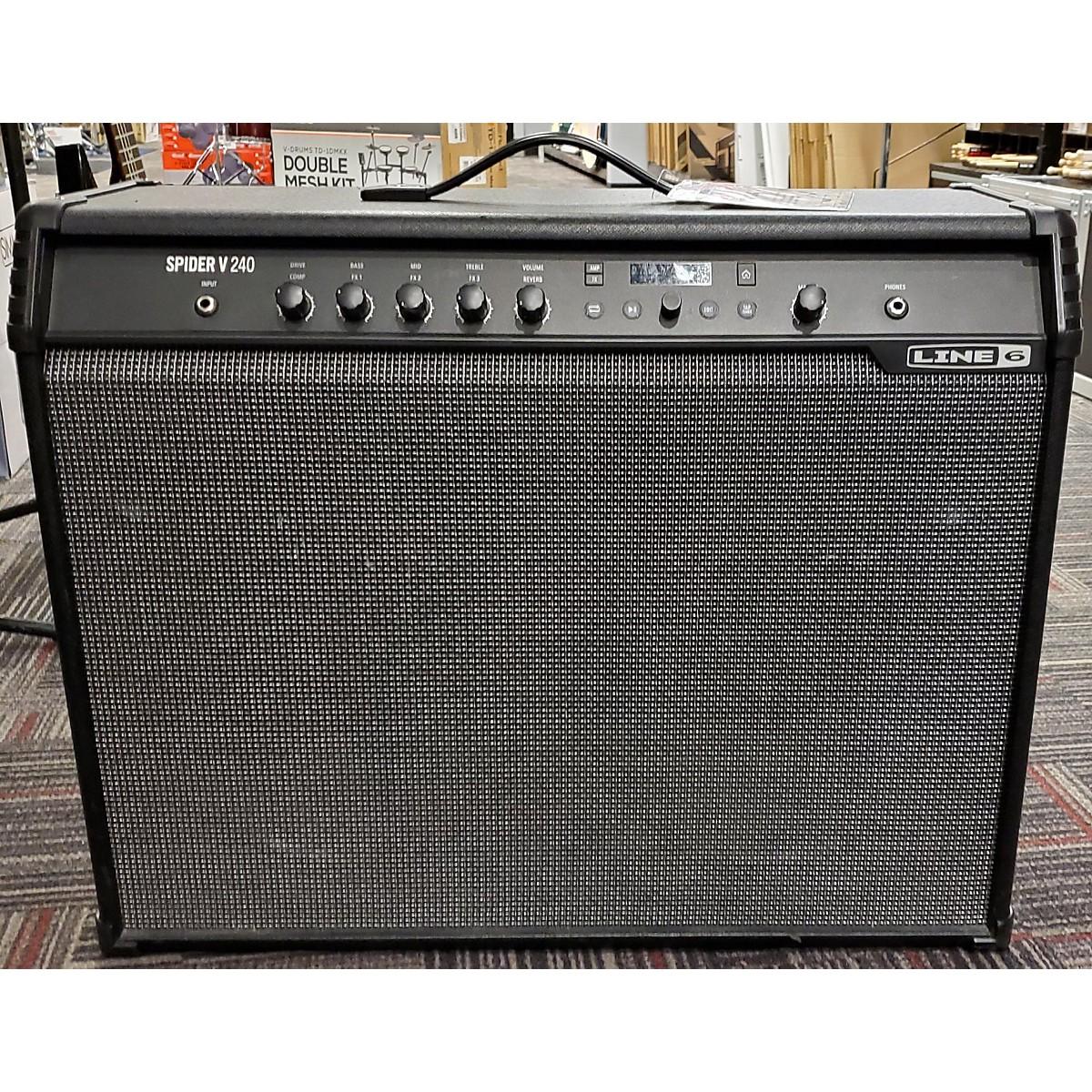 Line 6 Spider V 240 2x12 Guitar Combo Amp