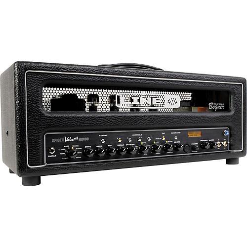 line 6 spider valve hd100 mkii 100w guitar amp head black guitar center. Black Bedroom Furniture Sets. Home Design Ideas