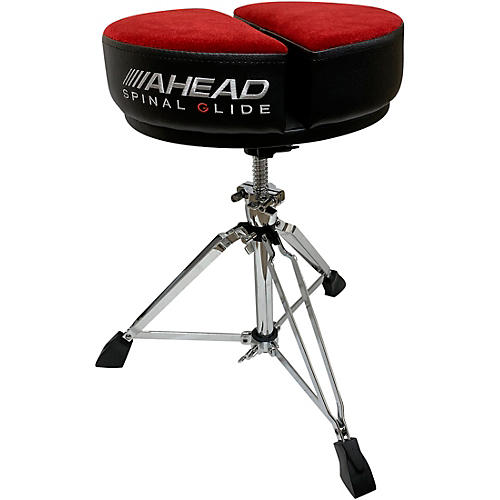 Ahead Spinal G Round Top Throne Red/Black