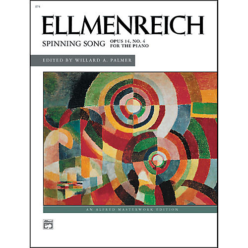 Alfred Spinning Song Op. 14 No. 4