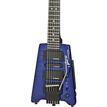 Spirit GT-PRO Quilt Top Deluxe Electric Guitar Translucent Blue
