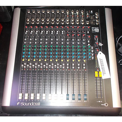 Soundcraft Spirit M8 Unpowered Mixer