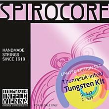 Thomastik Spirocore Cello Tungsten G&C Value Pack