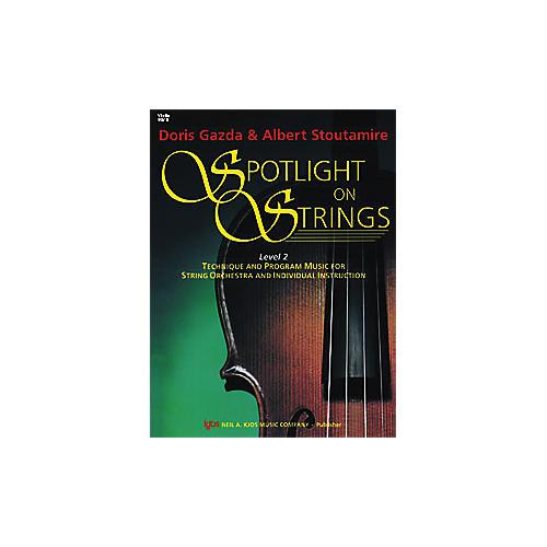KJOS Spotlight On Strings Book 2 Violin