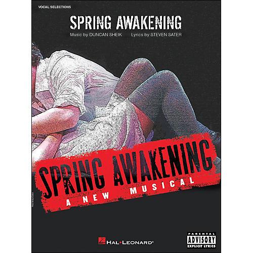 Hal Leonard Spring Awakening - A New Musical arranged for piano, vocal, and guitar (P/V/G)