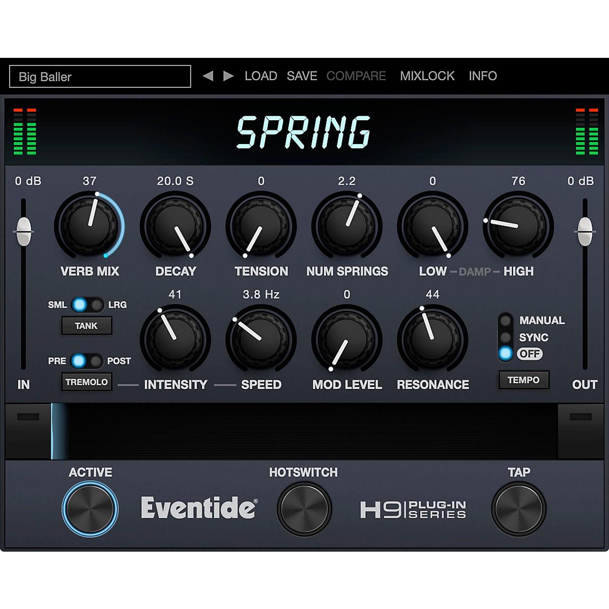 Eventide Spring Native Plug-in Software Download