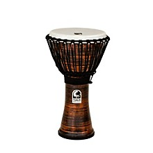 Spun Copper Rope Tuned Djembe 10 in.