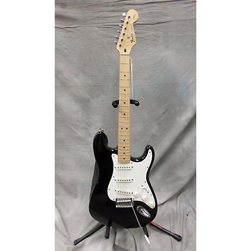 Fender Squier Series Stratocaster Black Solid Body Electric Guitar