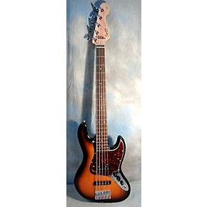 used fender squire j bass 5 string electric bass guitar guitar center. Black Bedroom Furniture Sets. Home Design Ideas