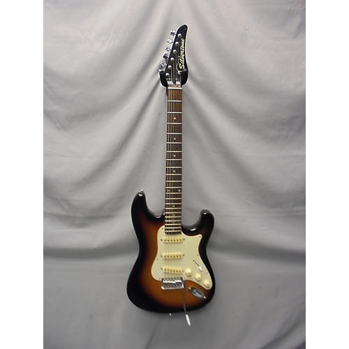 Silvertone St Style Solid Body Electric Guitar
