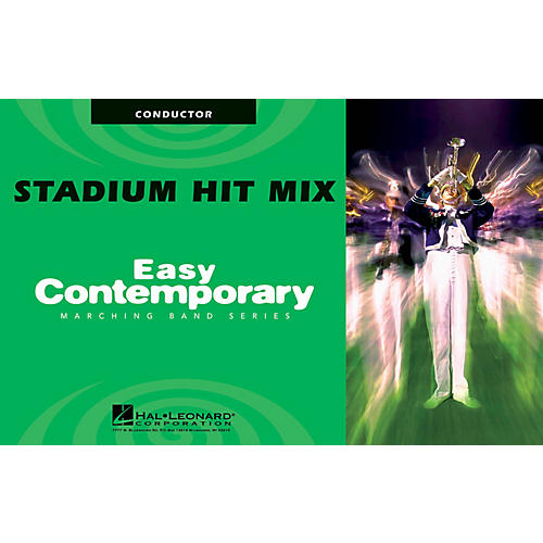 Hal Leonard Stadium Hit Mix (Conductor) Marching Band Level 2 Arranged by Michael Sweeney