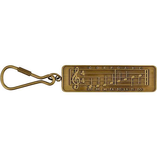 AIM Staff Music Keychain