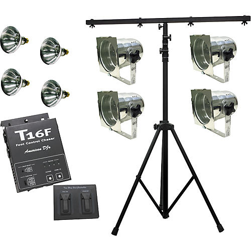 American DJ Stage Act 4 Lighting Package