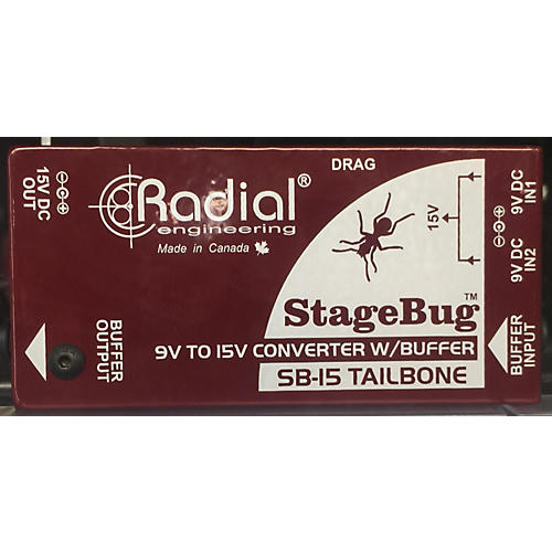 Radial Engineering Stage Bug Direct Box