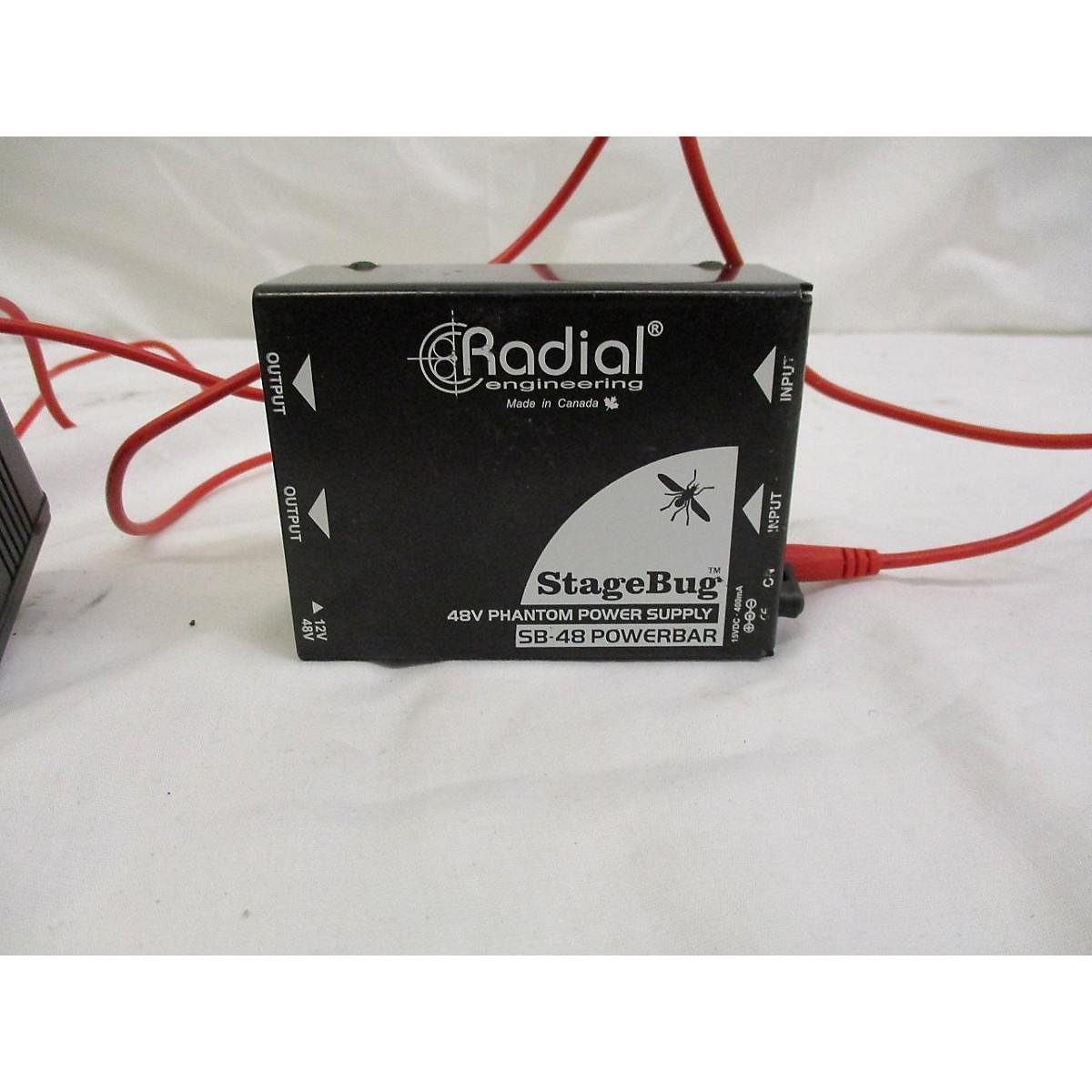 Radial Engineering Stage Bug SB48 Power Supply
