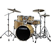 Stage Custom Birch 5-Piece Shell Pack with 20 inch Bass Drum Natural Wood