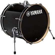 Stage Custom Birch Bass Drum 22 x 17 in. Raven Black