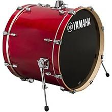 Stage Custom Birch Bass Drum 24 x 15 in. Cranberry Red
