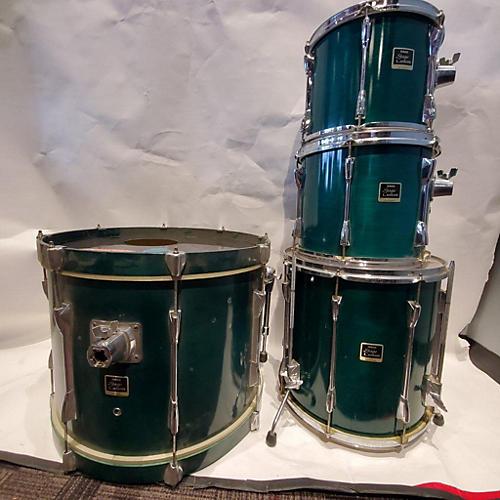 used yamaha stage custom drum kit green guitar center. Black Bedroom Furniture Sets. Home Design Ideas
