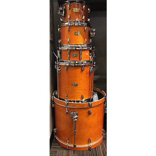 used yamaha stage custom drum kit honey amber guitar center. Black Bedroom Furniture Sets. Home Design Ideas