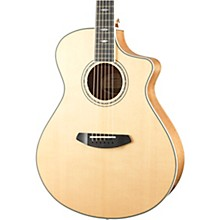 Stage Exotic Concert Acoustic-Electric Guitar Level 2 High Gloss Natural 190839778550
