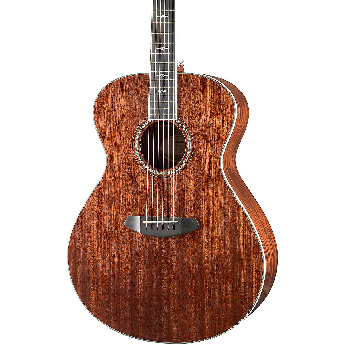 Breedlove Stage Exotic Concerto All-Mahogany Acoustic-Electric Guitar