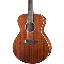 Stage Exotic Concerto All-Mahogany Acoustic-Electric Guitar Level 2 High Gloss Natural 190839696588