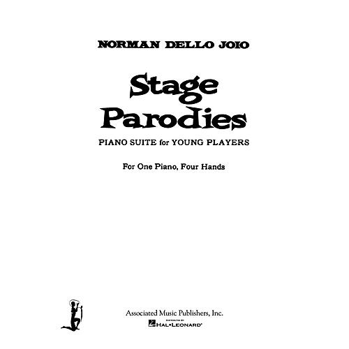 Associated Stage Parodies (Piano Duet) Piano Duet Series Composed by Norman Dello Joio