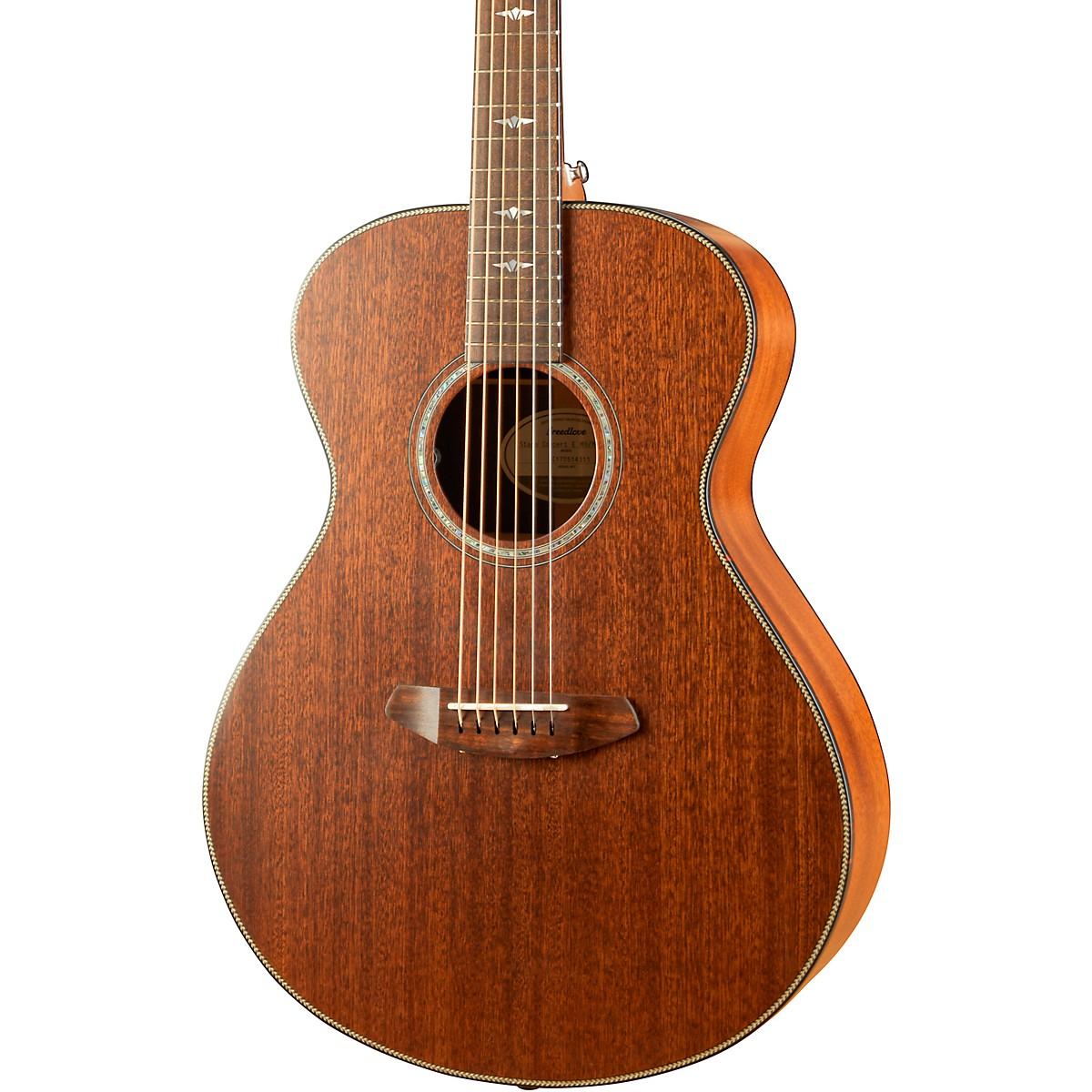 Breedlove Stage Series Concert E Mahogany-Mahogany LTD Acoustic-Electric Guitar