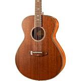 Breedlove Stage Series Concert E Mahogany-Mahogany LTD Acoustic-Electric Guitar Satin Natural