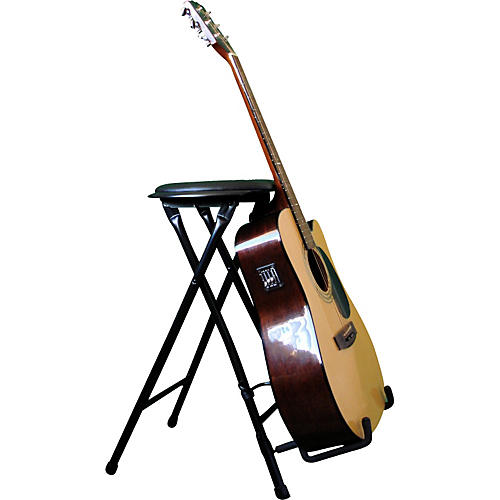 Alfred StagePlayer II - Guitarist Stool and Stand with Footrest