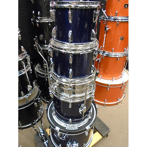 used tama stagestar drum kit midnight blue guitar center. Black Bedroom Furniture Sets. Home Design Ideas