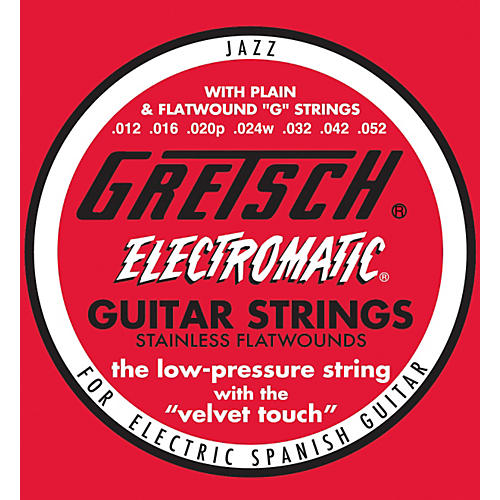gretsch guitars stainless steel flatwound guitar strings guitar center. Black Bedroom Furniture Sets. Home Design Ideas