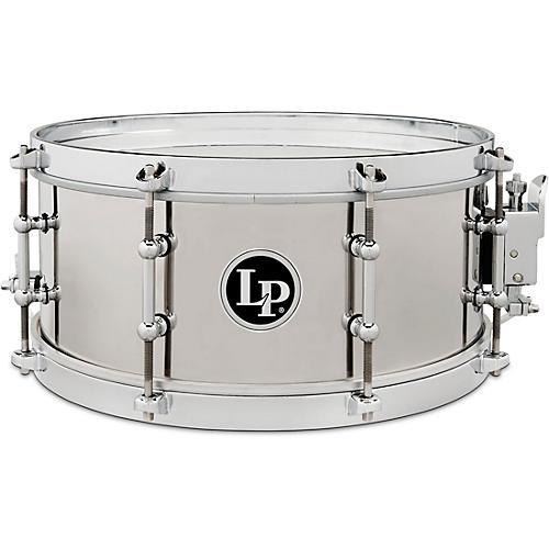 LP Stainless Steel Salsa Snare Drum