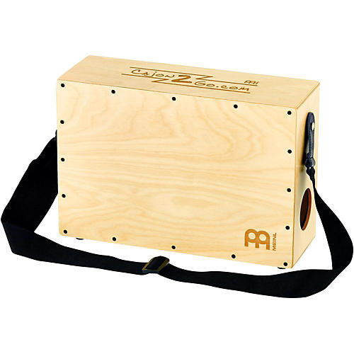 Meinl Stand Up Cajon with Internal Snares and Shoulder Strap