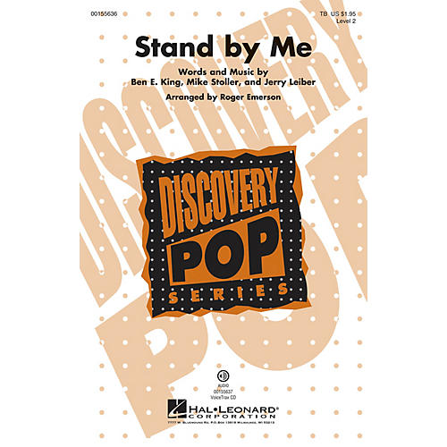 Hal Leonard Stand by Me (Discovery Level 2) VoiceTrax CD Arranged by Roger Emerson