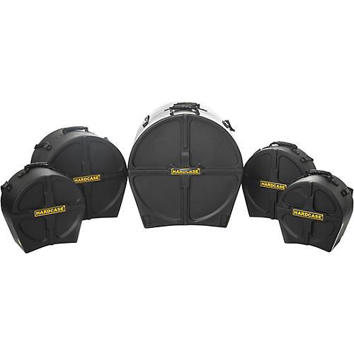HARDCASE Standard 5-Piece Drum Case Set