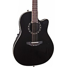 Standard Balladeer 2771 AX Acoustic-Electric Guitar Black