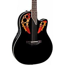 Standard Elite 2778 AX Acoustic-Electric Guitar Level 2 Black 190839387295