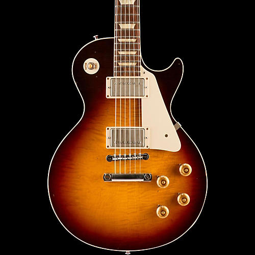Gibson Custom Standard Historic 1958 Les Paul Plaintop Reissue Lightly Aged Electric Guitar