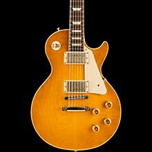Gibson Custom Standard Historic 1958 Les Paul Plaintop Reissue VOS Electric Guitar Lemon Burst