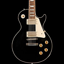 Gibson Custom Standard Historic 1958 Les Paul Reissue VOS Electric Guitar Ebony