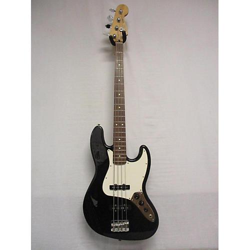 used fender standard jazz bass electric bass guitar black guitar center. Black Bedroom Furniture Sets. Home Design Ideas