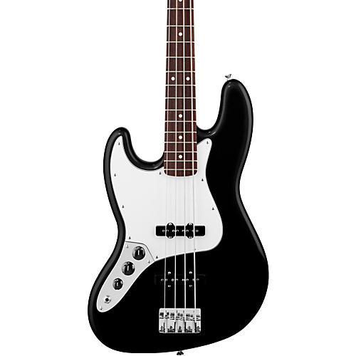 Fender Standard Left-Handed Jazz Bass Guitar with Rosewood Fretboard