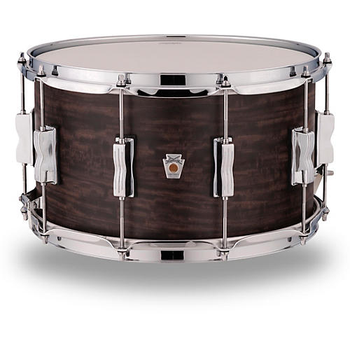 Ludwig Standard Maple Snare Drum with Aged Ebony Stain